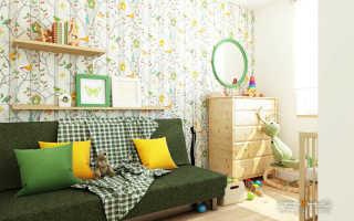 Дизайн детской в квартире фото реальные