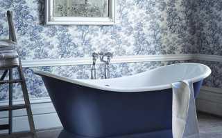 Ванная комната обои дизайн фото