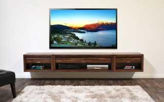 Телевизор на стене дизайн