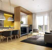 Дизайн кухни 30 метров