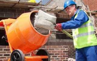 Сколько нужно цементного раствора
