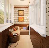 Балкон белый кирпич