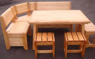 Мебель для бани из дерева фото