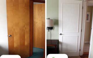 Как обновить двери из дерева