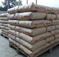 Цемент м400 характеристика