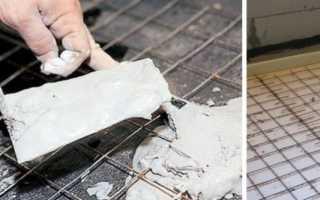 Сетка в бетонную стяжку