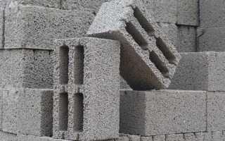 Ячеистый бетон толщина
