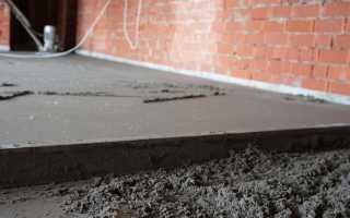 Устройство цементно песчаной стяжки пола