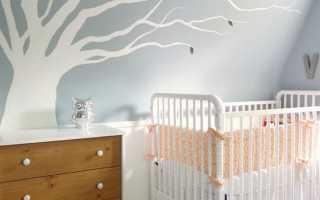 Декор дерево на стене