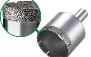 Сверление керамогранитной плитки