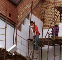 Утепление фасадов пенопластом своими руками