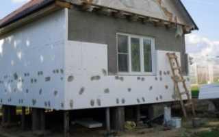 Пенопласт для фасада дома