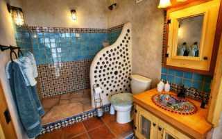 Ванна в восточном стиле дизайн