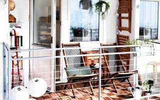 Балконы дизайн фото маленький