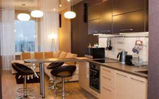 Дизайн кухни 14 кв с диваном