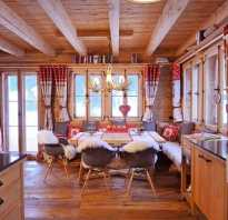 Загородный дом интерьер в стиле шале