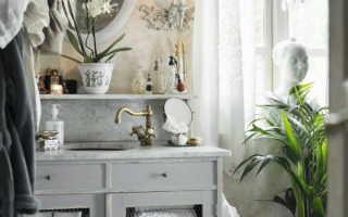 Ванна прованс фото дизайн