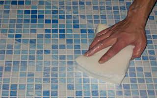 Когда мыть плитку после затирки швов