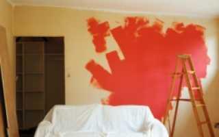 Как клеить обои на покраску