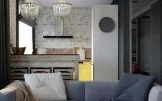 Дизайн кухни 19 кв м