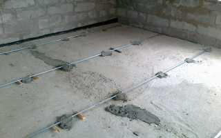Направляющие для бетонного пола