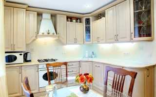 Дизайн классической угловой кухни
