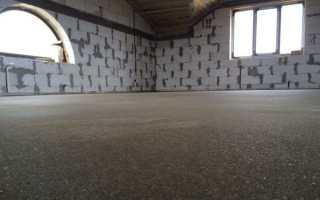 Расчет цементно песчаной смеси для стяжки пола