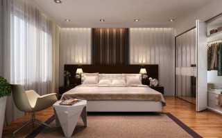 Интерьер в спальной комнате
