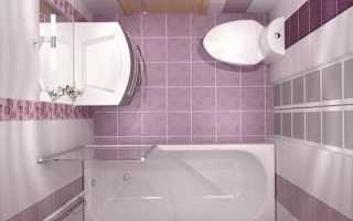 Ванная комната дизайн маленькой площади