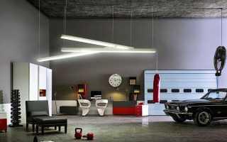 Дизайн в стиле гаража