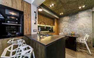 Дизайн кухни 22 кв м фото
