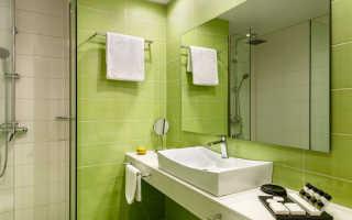 Ванная в зеленом цвете дизайн фото