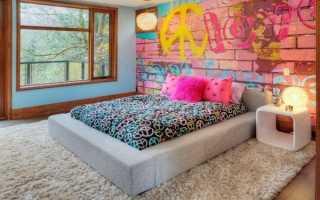 Дизайн подростковой комнаты в современном стиле