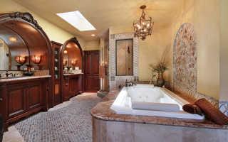 Большие ванные комнаты дизайн фото