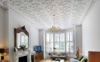 Плитка на потолок из полистирола