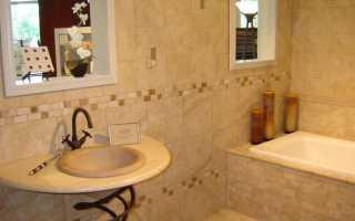 Каким материалом можно отделать ванную комнату