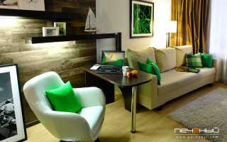 Интерьер небольшой квартиры в современном стиле
