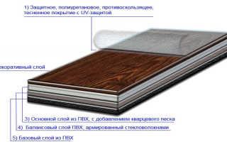 Как положить плитку пвх на пол