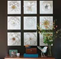 Цветы в интерьере рисунок