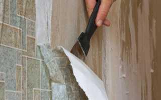 Как легко убрать обои со стены