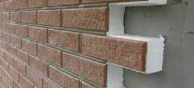 Пенопластовый утеплитель для стен