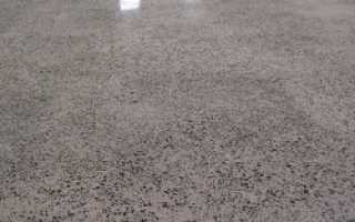 Толщина бетонного пола в доме