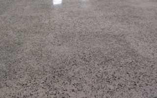Толщина заливка пола бетоном