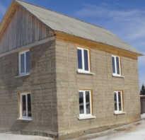 Дом из опилок и цемента