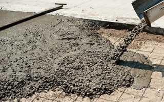 Каким бетоном залить пол