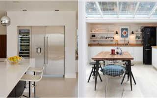 Холодильники сайд бай сайд в интерьере