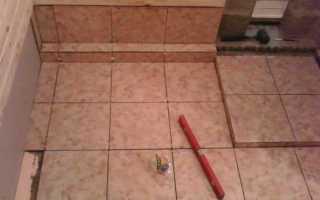 Плитка в баню на пол с уклоном