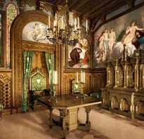 Интерьер в замковом стиле