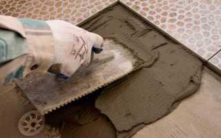 Клей для плитки при минусовой температуре