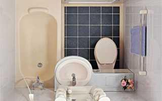 Дизайн ванной 2 кв м фото